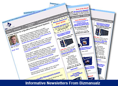 Join Bizmanualz Newsletter