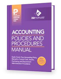 Accounting Policy Procedure Manual Template