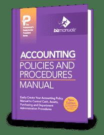 accounting policies procedures manual. Black Bedroom Furniture Sets. Home Design Ideas