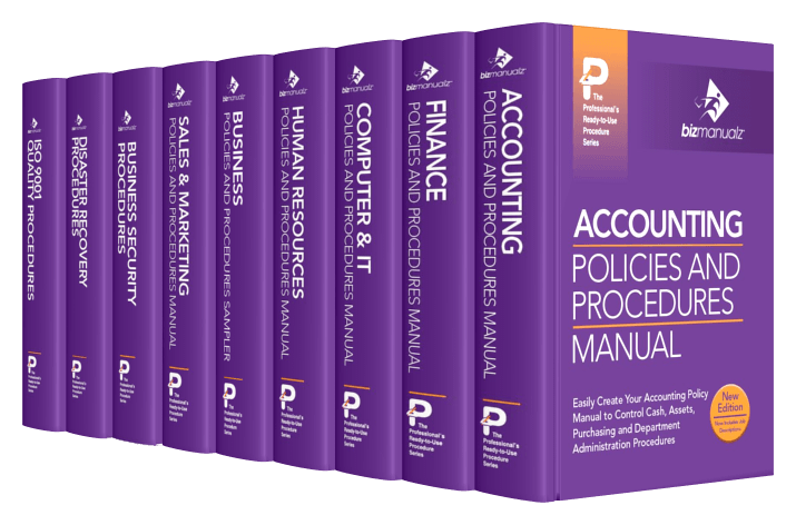 CEO Company Procedure Manuals Company Policies Procedures - Company procedures manual template