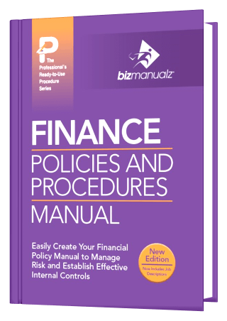 Finance Policy and Procedure Manual Template