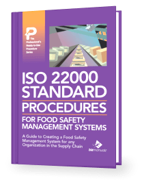ISO 22000 Policy and Procedure Manual Template