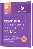 Computer IT Policy Procedure Manual