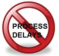 process delays