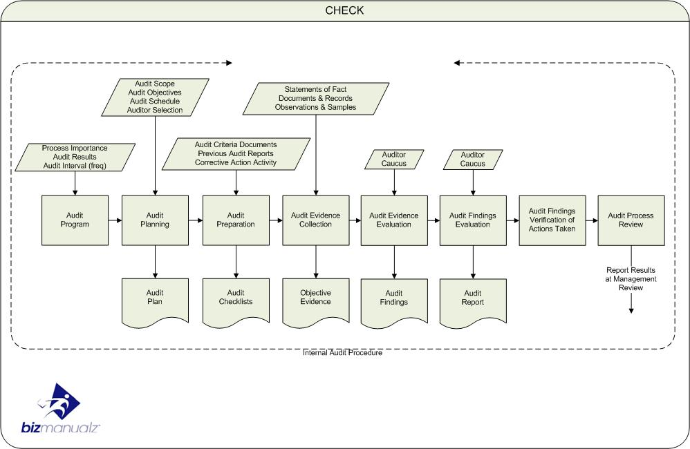 ISO Internal Audit Process Map