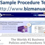 What are Examples of Policies and Procedures?