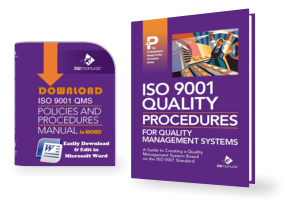 Quality ISO 9001 Procedures Templates