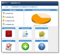 OnPolicy Procedure Managment Software Homepage