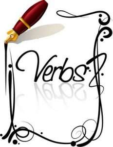 writing with verbs