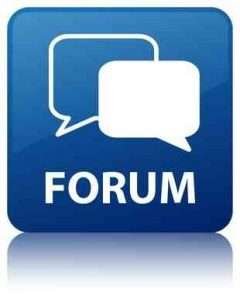 Policy and Procedure Forums