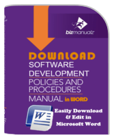 Software Development Policy Manual