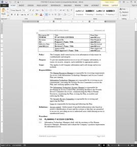 ITSD106 IT Access Control Procedure