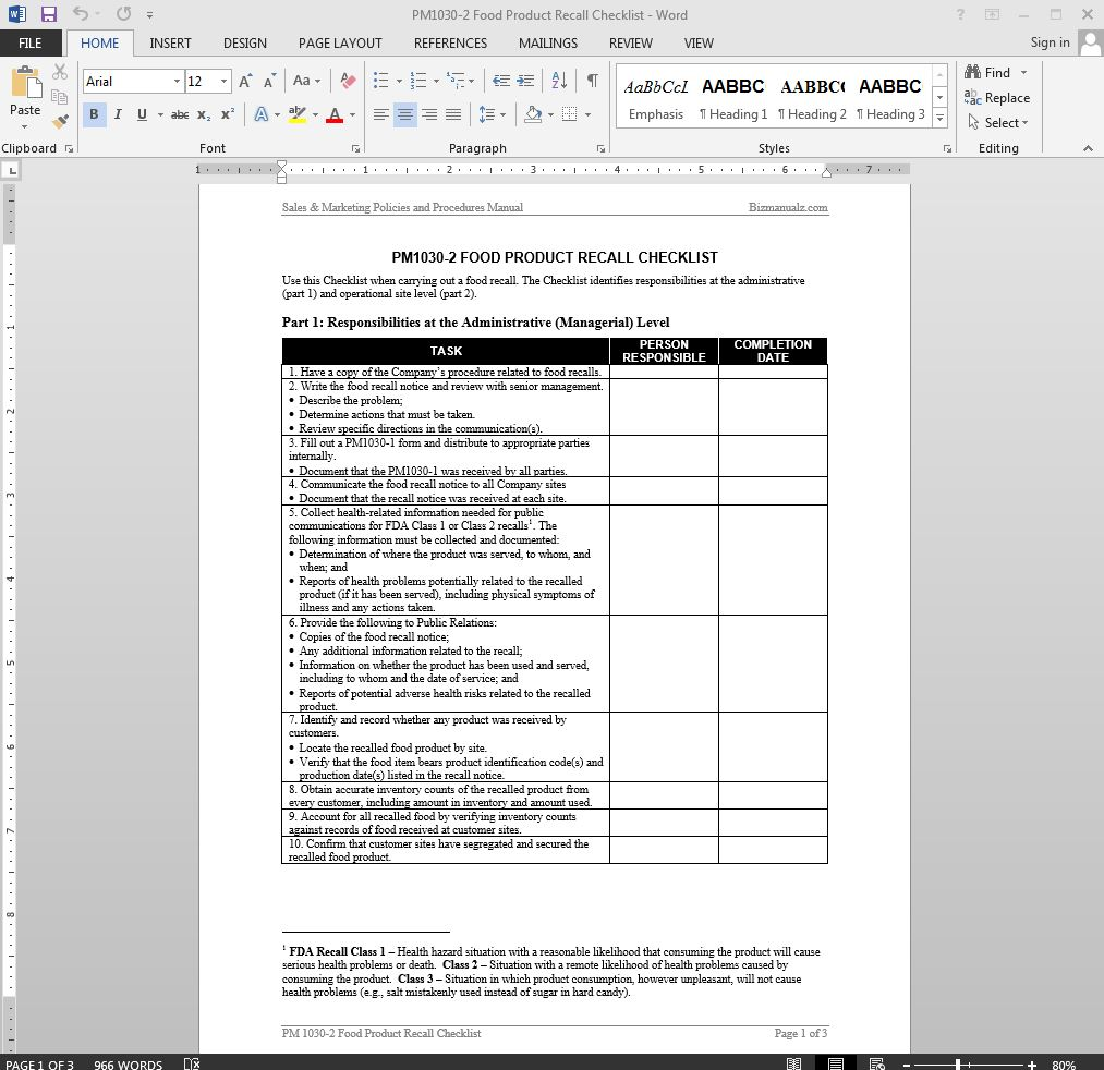 Executive Resume Template -Word, Excel, PDF Format Download