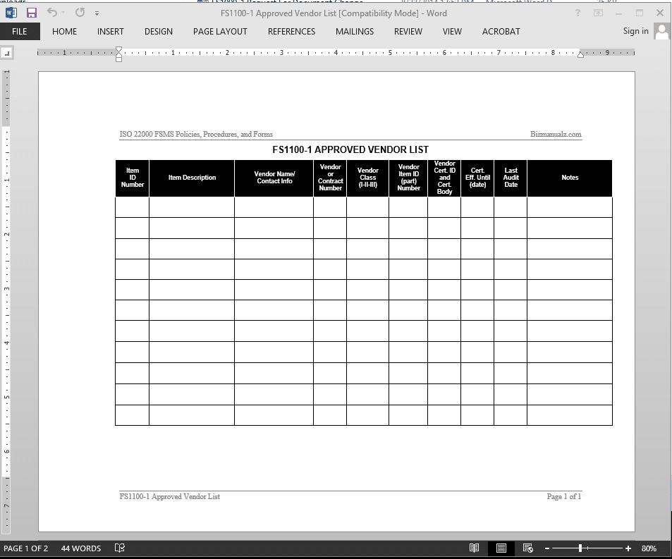iso 22000 checklist free download. Black Bedroom Furniture Sets. Home Design Ideas