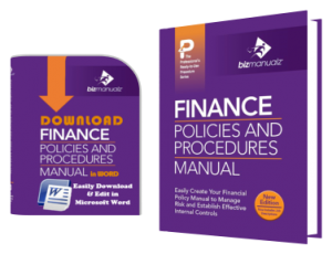 Financial Policies and Procedures Manual