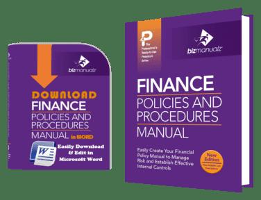 Finance for Finance sop template