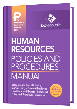 HR Policies And Procedures Manual - Personnel policy template