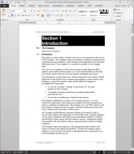Employee Handbook | Employee Manual