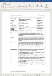 Aerospace Customer Product Requirements Procedure