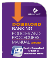 Banking Policy Procedure Manual