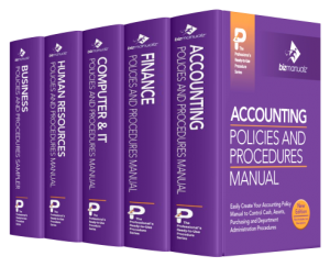 Financial Accounting Policies Procedures Manual Template