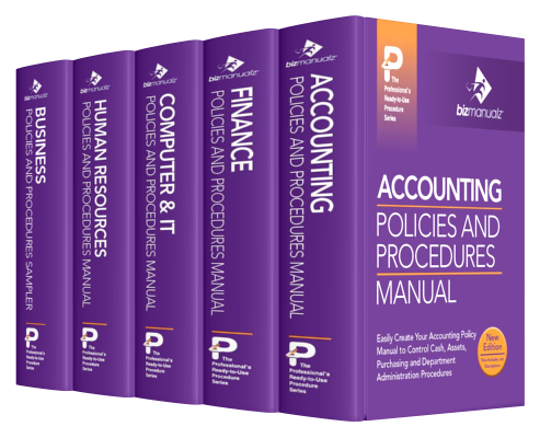 accounting practice office procedures manual