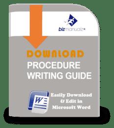 Procedure Writing Guide