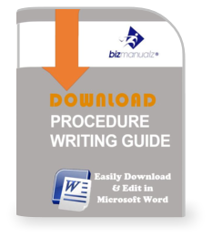 writing policies and procedures Policy and procedure manuals serve a much larger purpose than simply stating   2 examples of company policies & procedures 3 guidelines for writing.