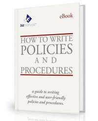 Policies Procedures Writing
