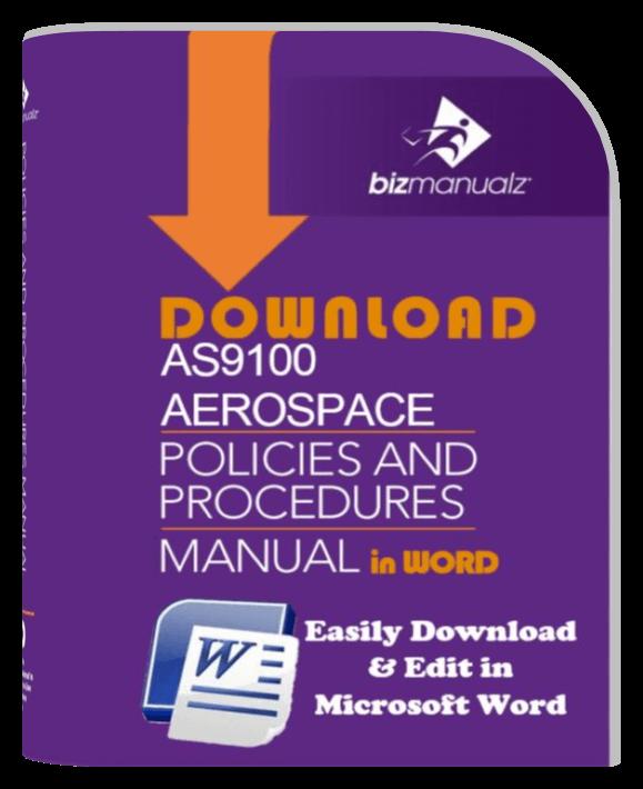 as9100 policies and procedures manual