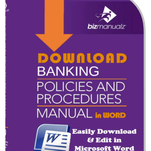 Banking Policies and Procedures Manual
