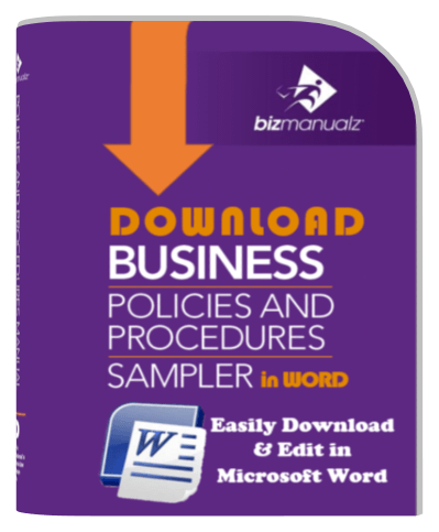 Business Policy Procedure Manual