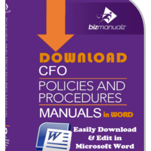 5 Manual CFO Internal Control Procedures Bundle
