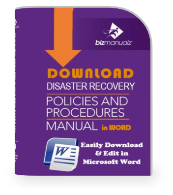Disaster Recovery Policy Procedure Manual