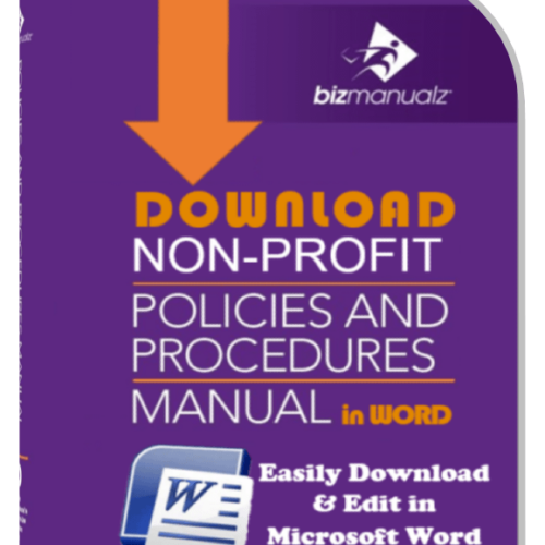 Nonprofit Policies Procedures Manual