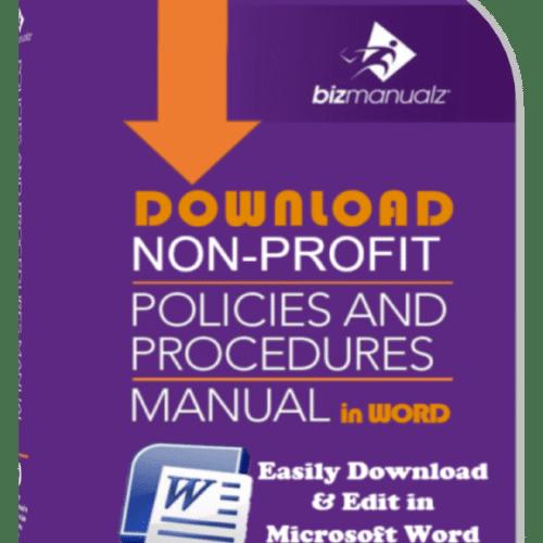 Nonprofit Policies Procedures Manual