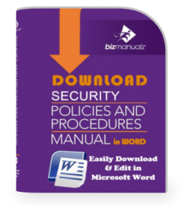 Security Policy Procedure Manual