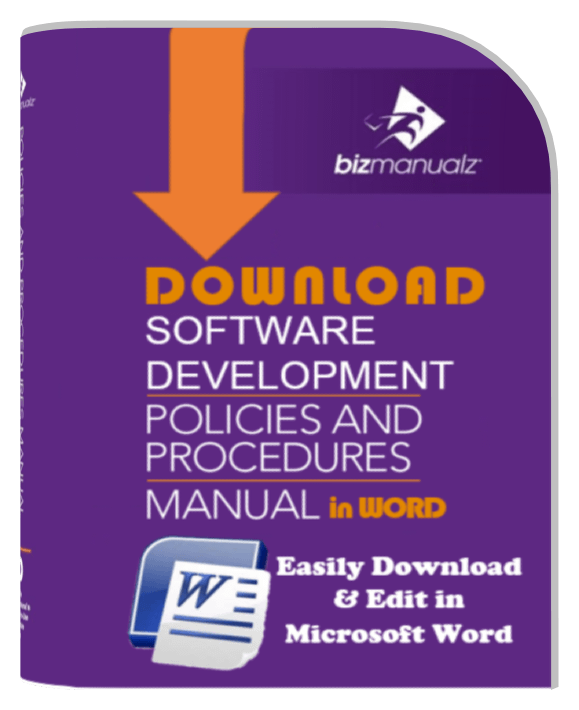 It policies and procedures template it asset management policies software development manual wajeb Image collections