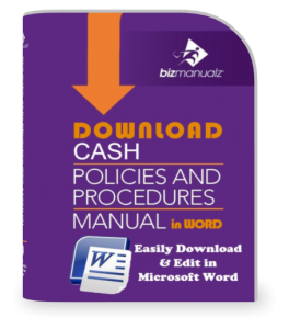 Cash Policies and Procedures Manual