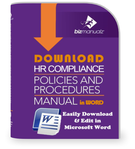 HR Compliance Policies and Procedures Manual