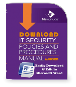 IT Security Policies and Procedures Manual