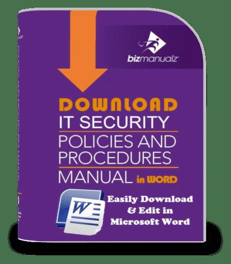 IT Security Policies and Procedures Manual