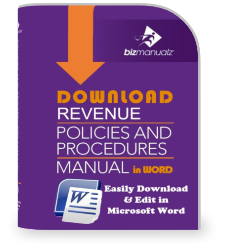 Revenue Policies and Procedures Manual