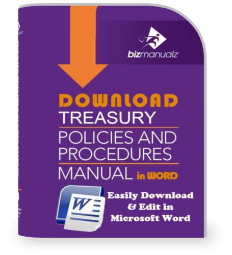 Treasury Policies and Procedures Manual