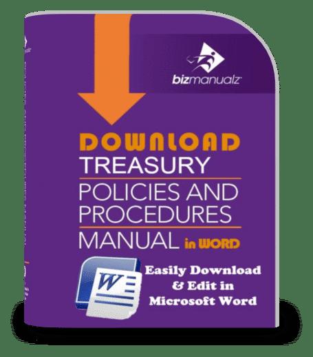 Treasury Policies and Procedures Manual