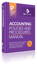 Accounting Policies Procedures Manual Template