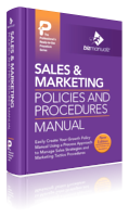 Sales Marketing Policies Procedures Manual Template