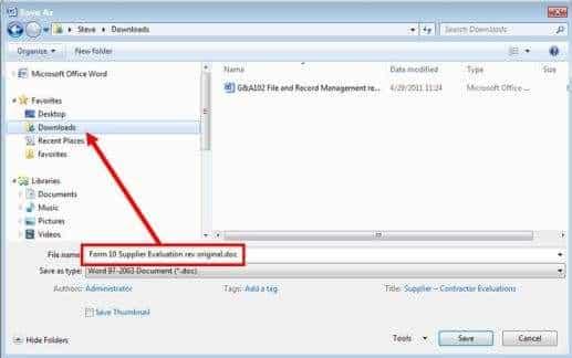 save file location