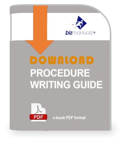 writing policies and procedures Writing policies and procedures training for effectively written iso procedures use as an iso writer or technical writer learn to bring processes to life.